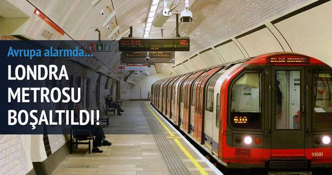 Londra metrosunda alarm!
