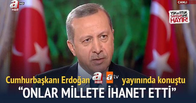 Cumhurbaşkanı Erdoğan ile 'Gündem Özel'