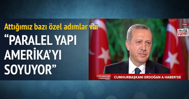 Cumhurbaşkanı Erdoğan: Attığımız bazı özel adımlar var