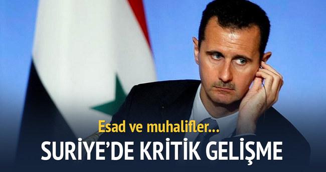 Suriye'de çok kritik gelişme