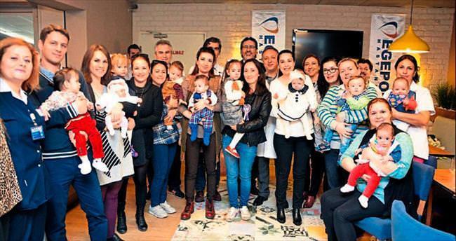 Dünya Prematüre Gününde Egepol Hastanesi'nde buluştular