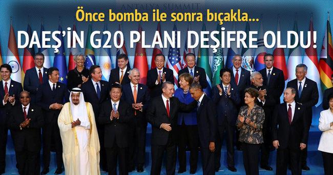 DAEŞ G20'yi hedef alacaktı!