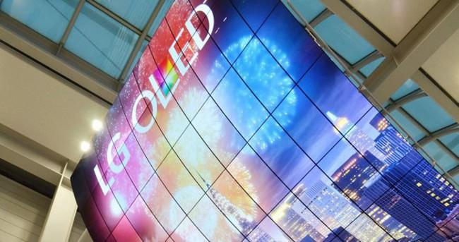 Dünyanın en büyük OLED ekranı görücüye çıktı