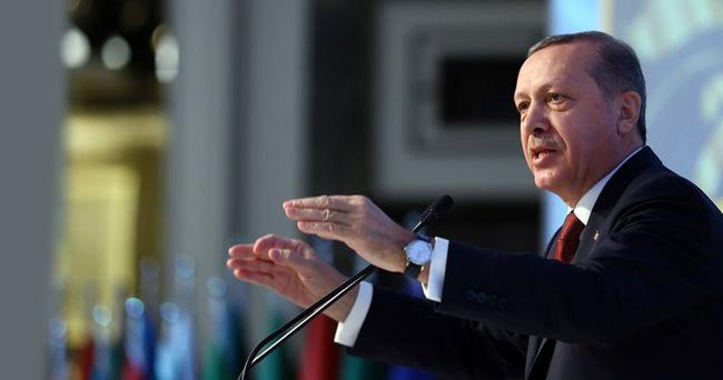 Cumhurbaşkanı Erdoğan: Artık bu gidişe hep birlikte dur demeliyiz