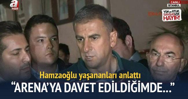 Hamza Hamzaoğlu veda etti