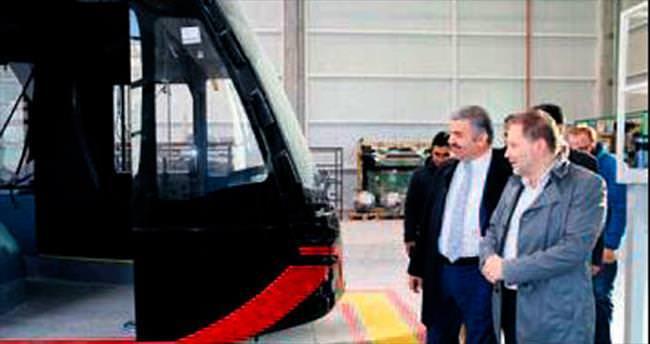 Yerli metroya Kayseri'den konuk