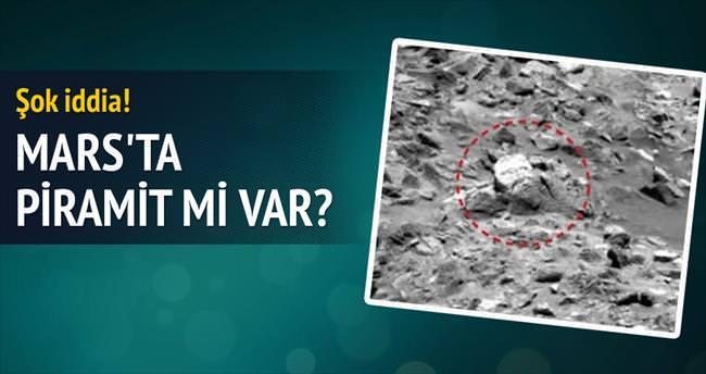 Mars'ta heykel yüzü!