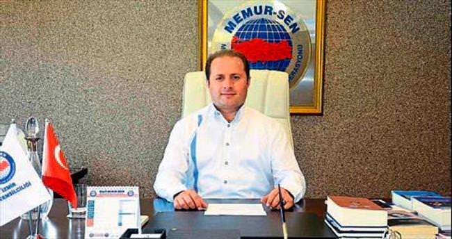 Memur-Sen İzmir kan bağışlayacak