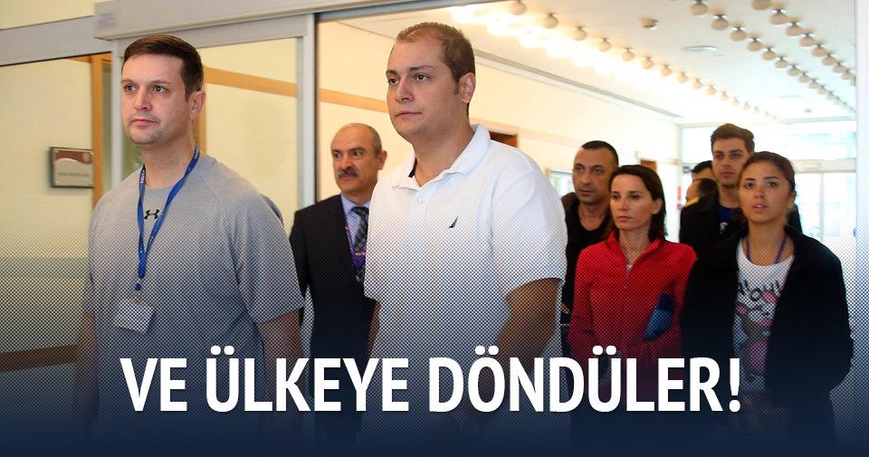 Mali'de rehin kalan THY personelleri Türkiye'de
