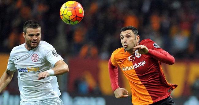 Galatasaray ile Antalyaspor arasında gol yağmuru