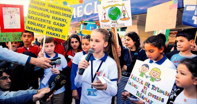 Çocukların dünyadan tek isteği var: Barış