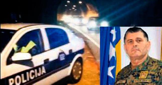 Boşnak Genelkurmay Başkanı ucuz atlattı