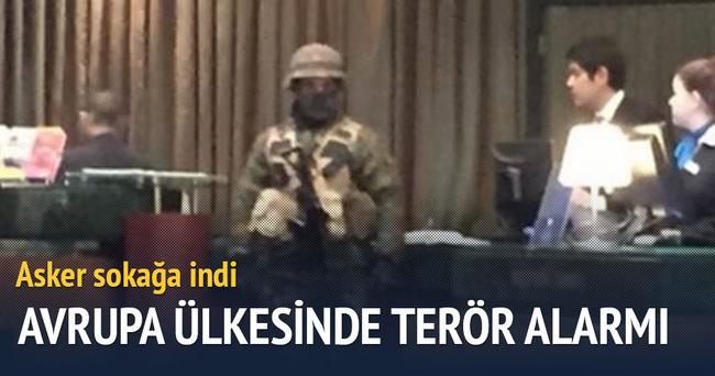 Belçika'da terör alarmı!
