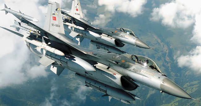 Türk savaş uçakları havalandı