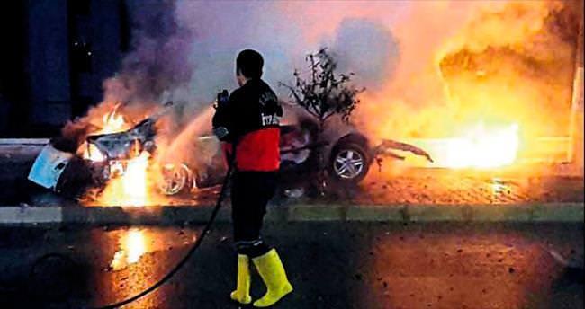 LPG'li araç bomba gibi patladı: 1 kişi öldü, sürücü ağır yaralı