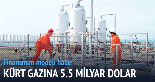 Kürt gazına 5.5 milyar $ yatırıyor