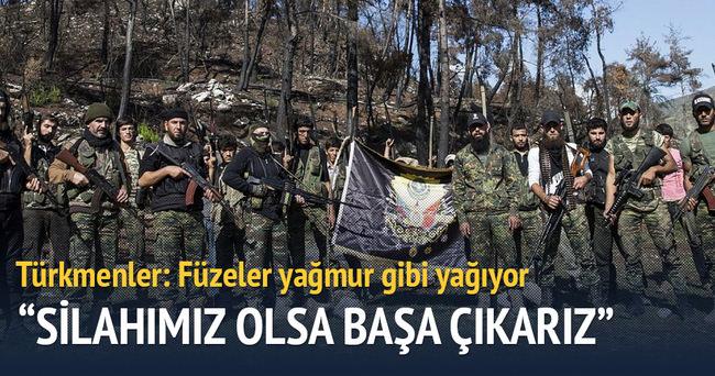 Türkmenler: Füzeler yağmur gibi yağıyor