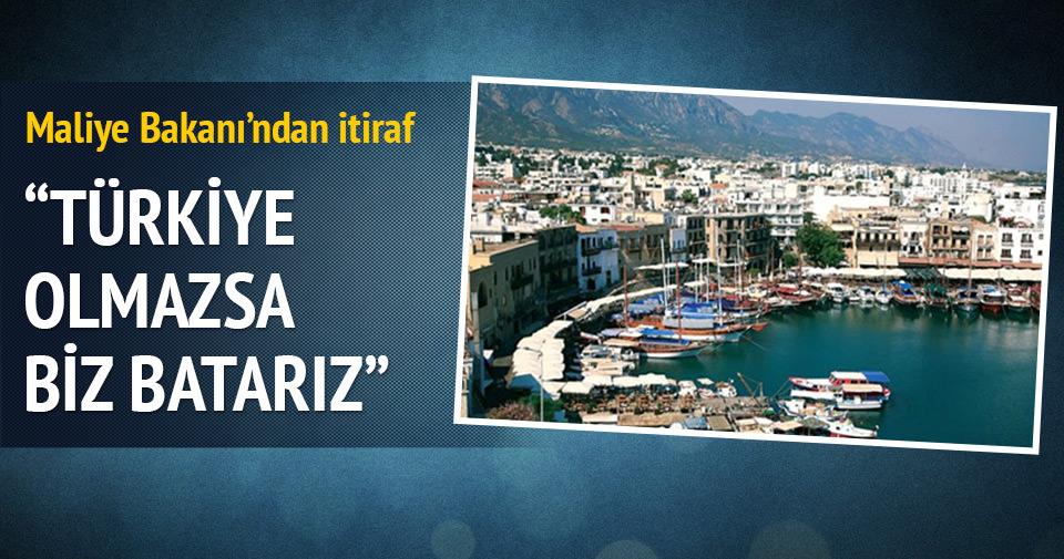 Türkiye para yollamazsa KKTC batar