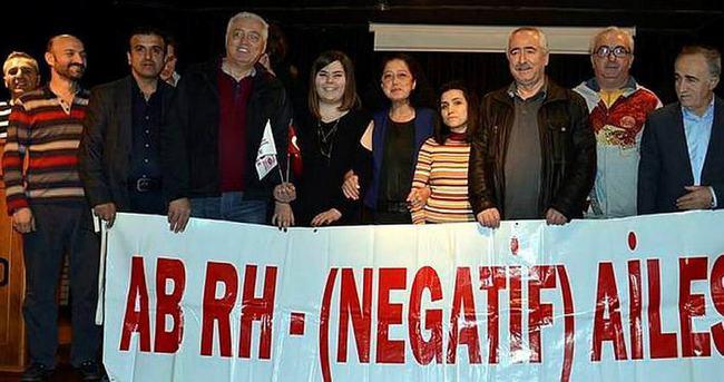 'AB Rh Negatif' kan kardeşliği