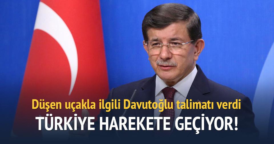 Türkiye düşen uçak için NATO ve BM'de girşimde bulunacak