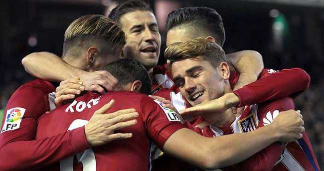 Atletico Madrid, Real'i geçti