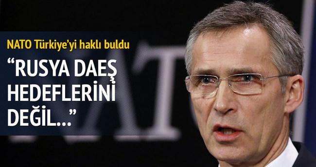 NATO Türkiye'yi haklı buldu