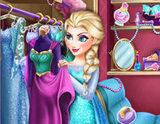 Elsa'nın Giyim Odası