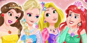 Disney Prensesleri Balo Hazırlığı Oyunu Kız Oyunları Sabah Oyun