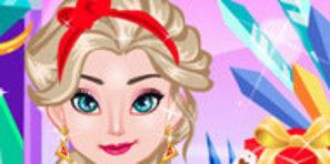 Elsa Sevgililer Günü Hazırlığında