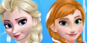 Anna ve Elsa Parti Hazırlığı