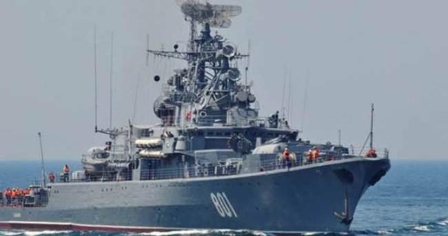 Rusya hava savunma gemisini Akdeniz'e gönderiyor