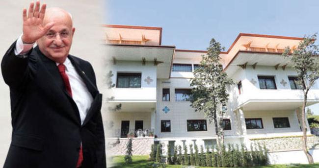 Yeni Meclis Başkanı İsmail Kahraman burada kalacak