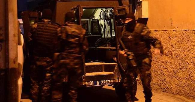 Adana'da 1000 polisle şafak operasyonu