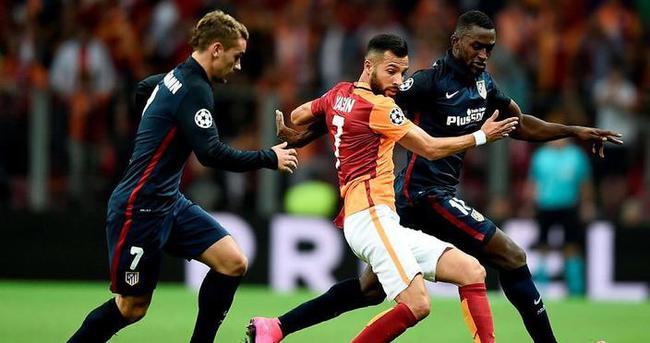Atletico Madrid - Galatasaray maçı muhtemel kadro