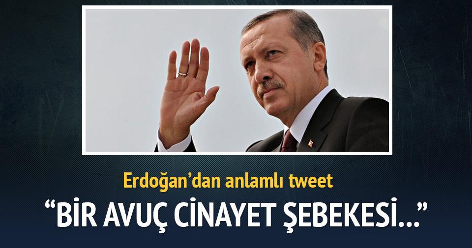 Erdoğan'dan önemli tweet