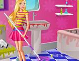 Barbie Banyo Temizliği