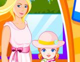 Barbie Kızıyla Temizlik Yapıyor