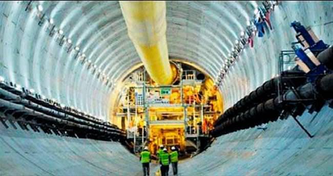 Avrasya Tüneli'nin yüzde 85'i bitti