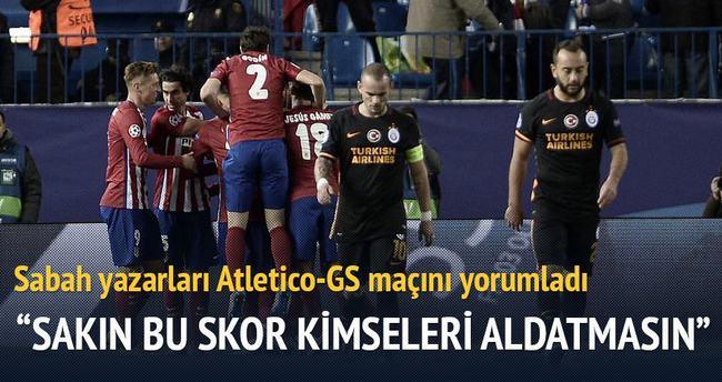 Yazarlar Atletico Madrid-Galatasaray maçını yorumladı