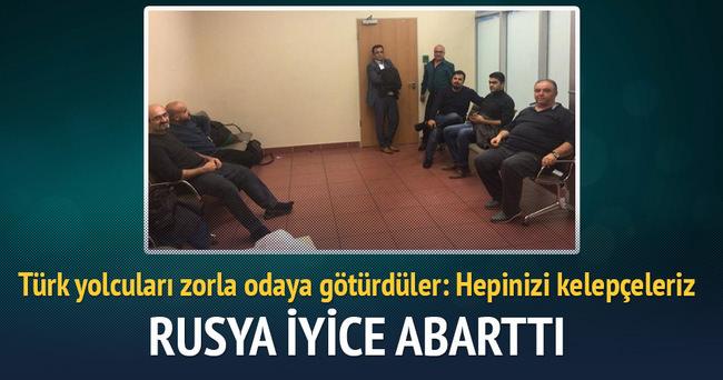Türk yolcular: Rusya bize kaçak muamelesi yapıyor
