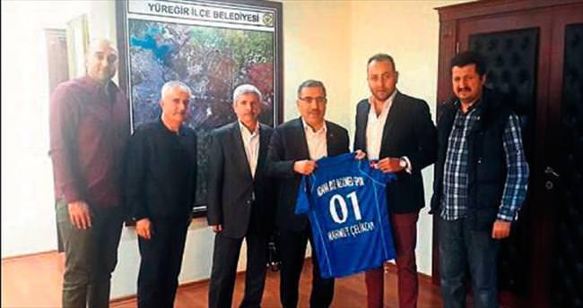 Başkan Mahmut Çelikcan'dan destek sözü