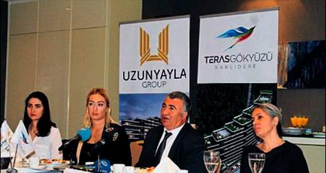 Teras Gökyüzü İzmir'e değer katacak