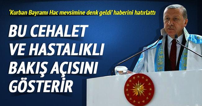 Erdoğan: Eleştiri kırıp dökmek değildir
