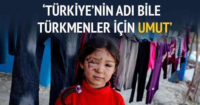 Türkiye'nin adı bile Türkmenler için umut
