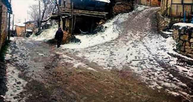 Ege'de ilk kar Çameli'ye düştü