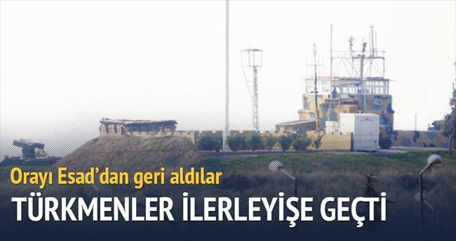 Türkmenler yeniden ilerleyişe geçti