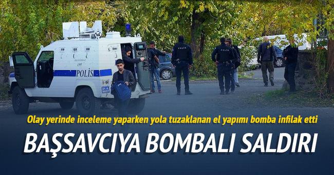 Savcı inceleme yaptığı sırada bomba patladı: 2 yaralı