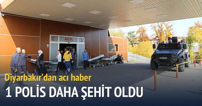 Diyarbakır'dan acı haber geldi: 1 polis daha şehit oldu