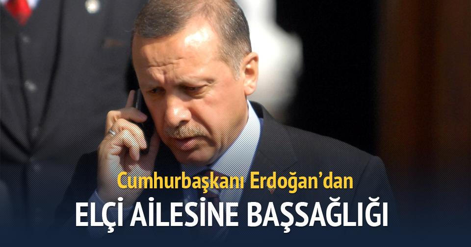 Cumhurbaşkanı Erdoğan'dan Türkan Elçi'ye başsağlığı