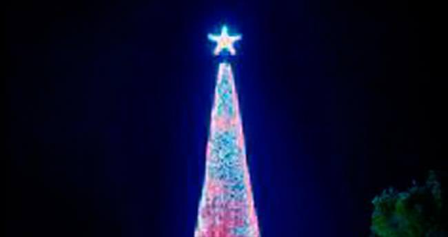 518 bin ışıklı Noel ağacıyla Guinness rekoru kırdı